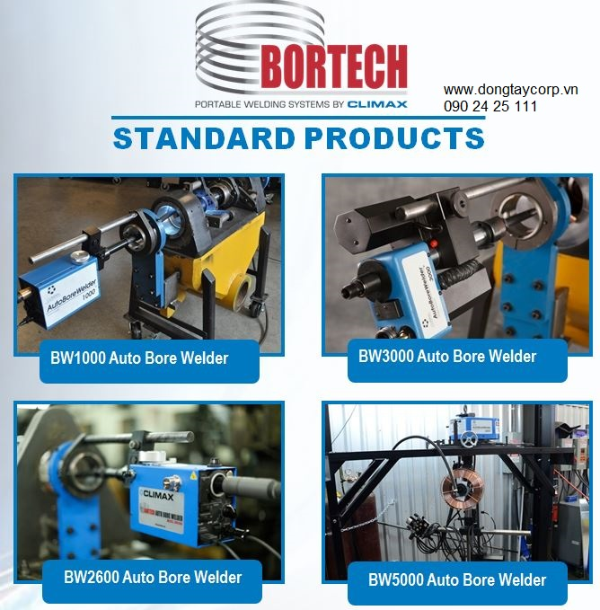 auto bore welder machine